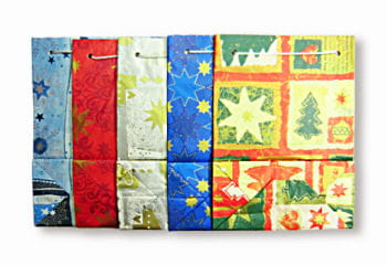 Christmas Carrier Bags 25 PCS