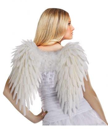 Weiße Angel Wings