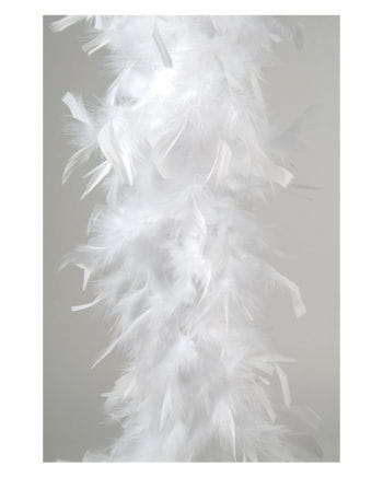 Feather Boa approx 185 cm white
