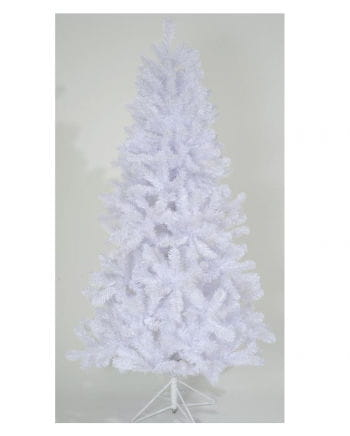 White Christmas tree with stand 180 cm