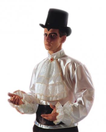 White Baroque Shirt
