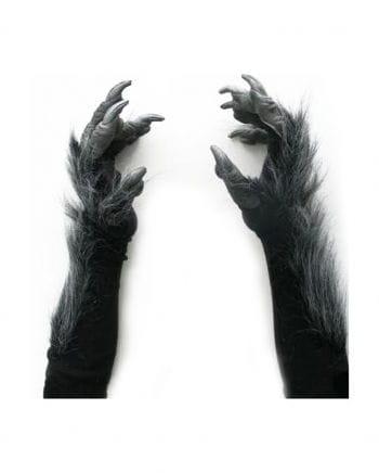 Werwolf Handschuhe Deluxe Schwarz