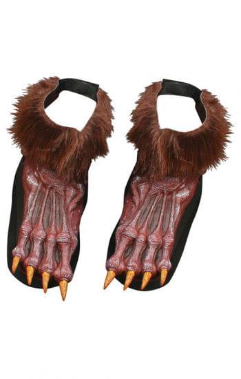 Werwolf Schuhe braun