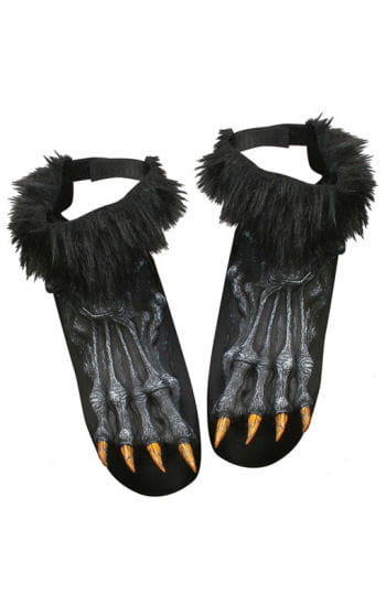 Werewolf Feet Black