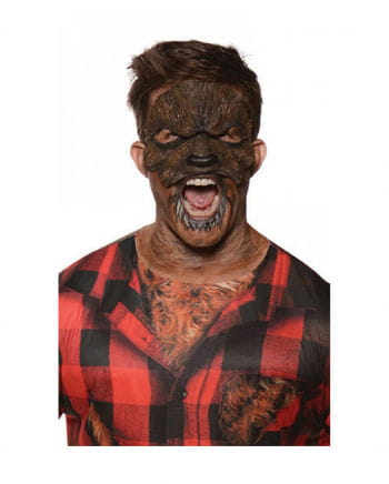 Werwolf Lykaner Latexmaske