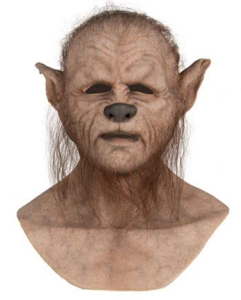 Haarige Werwolf Silikon Maske
