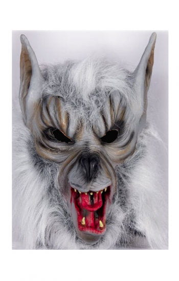 Werwolf Maskerade mit Fell
