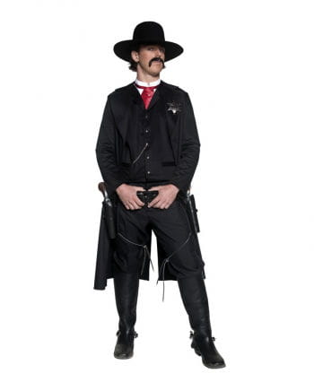 Western Sheriff Costume 4-pc.