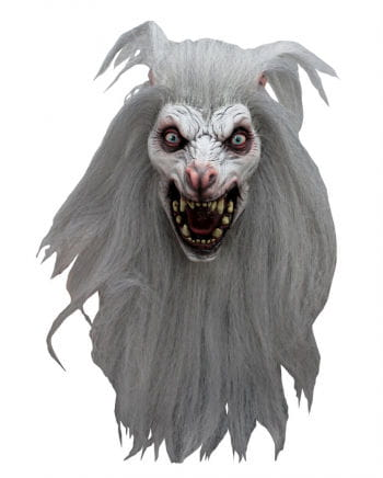 White Moon Werewolf Mask