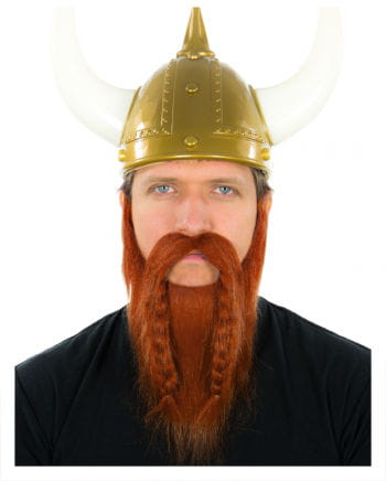 Viking beard red