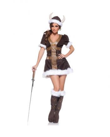 Wikinger Prinzessin Premium Kostüm XL