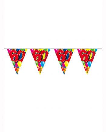Partykette Ballon 60 Jahre