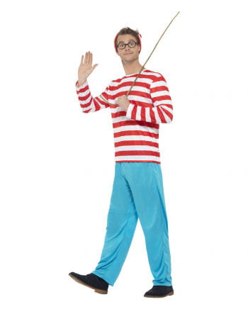 Where`s Wally Plus Size Men Costume