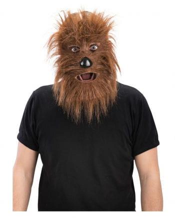 Werwolf Maske aus Kunstfell