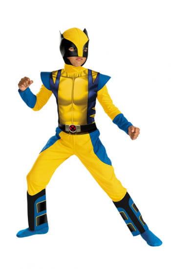 Wolverine Superhelden Kostüm für Kinder
