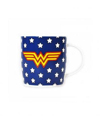 Wonder Woman Sterne Tasse blau