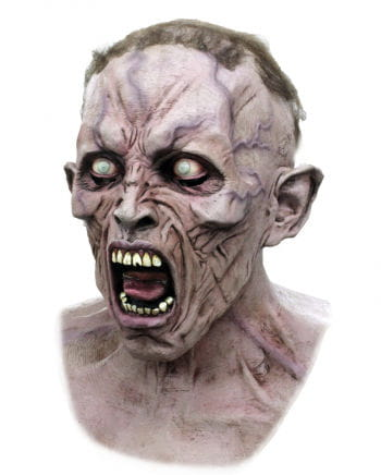 World War Z Zombie Scream mask Dlx