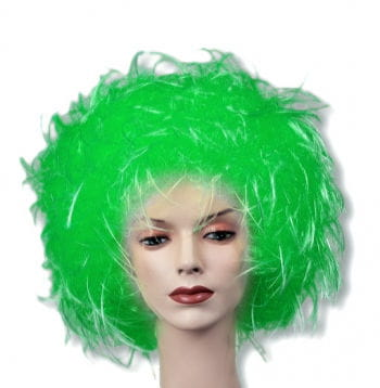 Curly wig green
