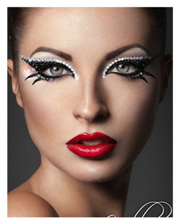 Xotic Eyes Cleopatra schwarz silber