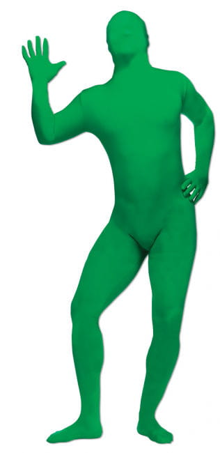 Green body suit