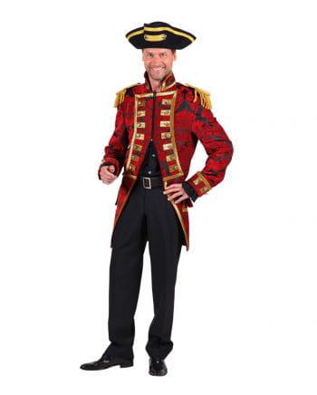 Ringmaster jacket red / black