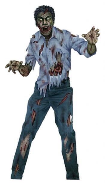 Zombiemann Wandfolie