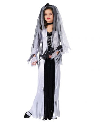 Zombie Bride Child Costume Large