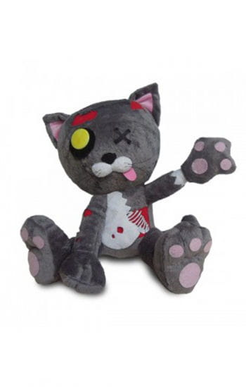 Zombie Cuddly Toy Cat