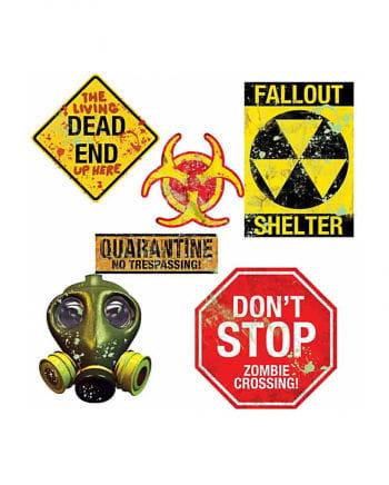 Zombie Labor Cutouts