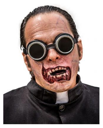 Zombie Mund Applikation aus Latex