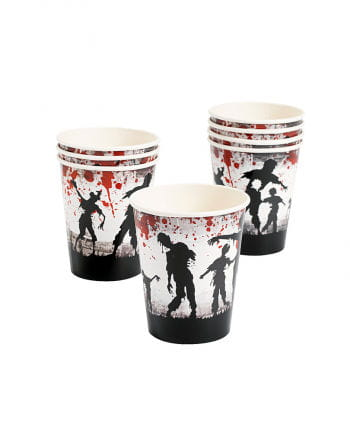 Zombie Party Paper Cup