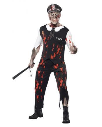 Zombie Polizisten Kostüm