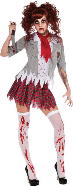 Zombie High School Girl Kostüm