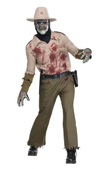 Zombie Sheriff Costume Deluxe