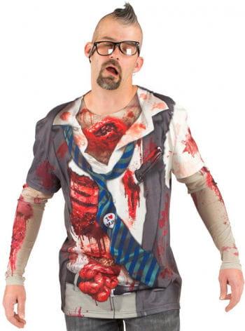 Zombie-Shirt Hirn und Herz