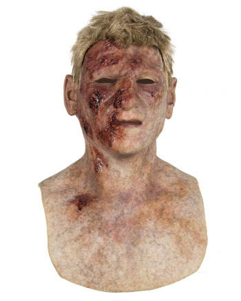 Burned Zombie silicone mask