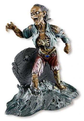 Grabstein Zombie Figur aus Kunstharz