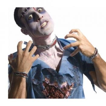 Zombie Zipper Wunde