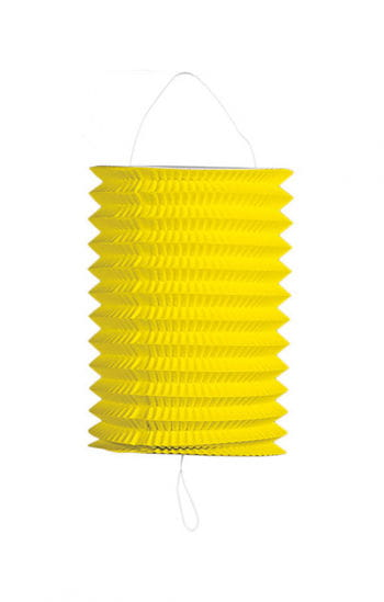 Summer party lantern yellow