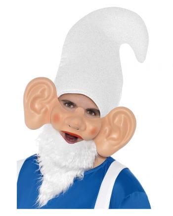 Gartenzwerg Maske mit Ohren