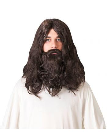 Dwarf Beard with Wig dark brown