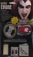 Vampire Count Make Up Kit