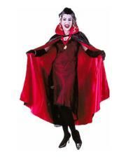 Dracula turning Satin cape