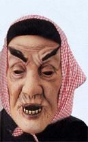 Old granny mask Hussain