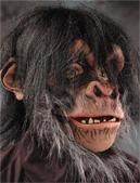 Chimpanzee mask Deluxe / Monkey Monster