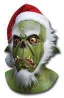 Santa Grinch Maske