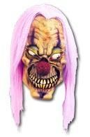Purple Acid Clown Maske