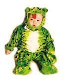 Frog Baby Costume Size S / 6-12 Months