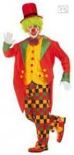 Clown Tailcoat Costume Size XL