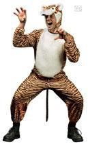 Wild tiger costume M